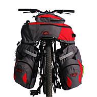 Acacia® Kerékpáros táska 60LKerékpár Hátizsák / Túratáska csomagtartóra/Kétoldalas túratáska Fényvisszaverő csík / 3 az 1-Kerékpáros