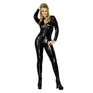 Wild Girl SM Style Backless Deluxe PU Leather Sexy Uniform