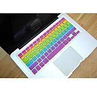 "Coosbo® Rainbow Silicone Keyboard Cover Skin for 11.6"",13.3"",15.4"",17"" Mac Macbook Air Pro/Retina"