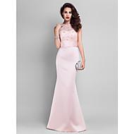 TS Couture® Prom / Formal Evening / Military Ball / Black Tie Gala Dress - Elegant Plus Size / Petite Trumpet / Mermaid Jewel Floor-length Lace