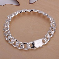 Men's Chain/Fashion/Personalized/Men's Bracelet Silver