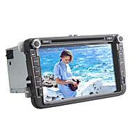 8 inch 2 Din Car DVD Player for Volkswagen Universal,Supporting GPS/DVD/RDS/ipod/Bluetooth/ATV/SWT