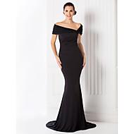 TS Couture® Formal Evening / Black Tie Gala Dress - Elegant / Vintage Inspired Plus Size / Petite Trumpet / Mermaid Off-the-shoulderSweep / Brush