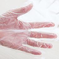 100 חתיכות כפפות אנטי חיידקים חד פעמיות