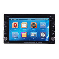 "6.2"" 2 Din LCD Touch Screen In-Dash Car DVD Player with 3G,GPS,Bluetooth,iPod,RDS,ATV"