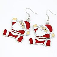 Natal Papai Noel brincos
