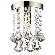 60 Flush Mount ,  Modern/Contemporary / Traditional/Classic / Country Chrome Feature for Crystal / Mini Style CrystalLiving Room /