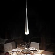 moderne aluminium hanglamp, 1 licht, transparant acryl verchromen, 110V-240V.