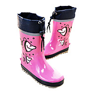 Girl's / Boy's Spring / Summer / Fall / Winter Rain Boots Rubber Outdoor / Casual Flat Heel Blue / Yellow / Pink Water Shoes