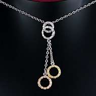 Fabulous Brass Gold Plated With AAAA Zircon Women's Necklace