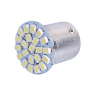 1157 2W 6000K 120LM 22x3020 SMD White LED for Car Brake Light (DC12-24V, 1Pcs)