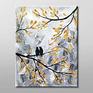 pittura a olio dipinta a mano di paesaggio con telaio allungato