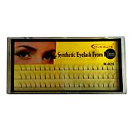 60 Eyelashes lash Eyelash Volumized Fiber