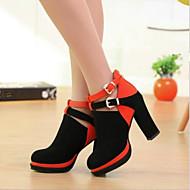 Women's Shoes Platform Chunky Heels Suede Pumps Shoes More Colors available