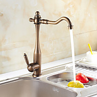 Sprinkle® Kitchen Faucets Centerset with Antique Bronze Single Handle One Hole
