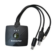 3-in-1 PSX/PS2 to Xbox/PC USB/GameCube Cable Converter Adapter for PS2 Wired Controller