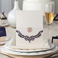 Cartes d'invitation Invitations de mariage Pli Parallèle Horizontal Personnalisé
