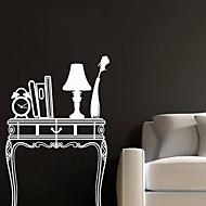 jiubai® moderna sala de mesa adesivo de parede decoração da parede do decalque