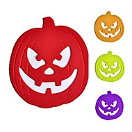 Halloween Pumpkin Ghost Silicone Pot Holder and Placemats 16*14*1cm (Random Color)