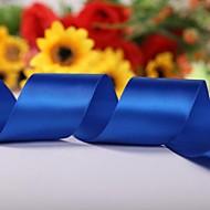 Einfarbig 2-Zoll-Satin Ribbon- 50 Meter pro Rolle (mehr Farben)