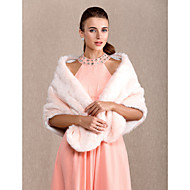 Chic Faux Fur kveld / Casual sjal (flere farger)