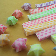 световой звезда оригами материалы (27 шт / мешок)
