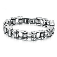 Personality Has Fine Bracelet Chain Man Titanium Steel Jewelry Christmas Gifts