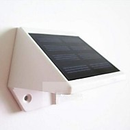 mlsled® 0.6w 4-הוביל גדר / חומה / מנורה לבנה מיני עמיד למים שמש מופעלות גן - לבן