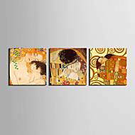 Canvas Set Famous People Classic Modern Traditional,Three Panels Horizontal Print Wall Decor For Home Decoration