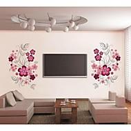 flor jiubai ™ parede videira adesivo de parede decalque