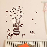 Wall Stickers Wall Decals,  Modern The little prince and the fox in a balloon PVC Wall Stickers