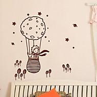 duvar çıkartmaları duvar çıkartmaları, modern bir küçük prens ve bir balon pvc duvar çıkartmaları tilki