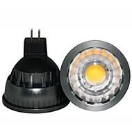 GU5.3(MR16) Lâmpadas de Foco de LED A60(A19) COB 500LM lm Branco Quente Regulável / Decorativa DC 12 V