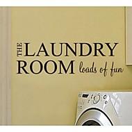 JiuBai™ Laundry Room Decoration Wall Sticker Wall Decal