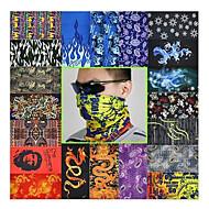 스포츠 자전거를위한 다채로운 머리 스카프 (라돔 색상)
