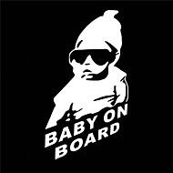 15 x 9 cm / Cool Baby ombord bil klistremerke motorsykkel klistremerke