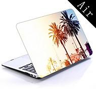 מקרה עיצוב עץ קיץ גוף מלא מגן פלסטיק עבור 11 אינץ '/ ה- MacBook Air החדש 13 אינץ'