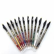 profi 24 órás tartós vízálló színes folyékony szemhéjtus ceruza, ceruza sharpener12 db