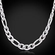 U7®Big Cool Women's 316L Titanium Steel Chunky Figaro Link Chain Necklace High Quality Jewelry Gift fo Women