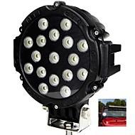 "liancheng® 6.3 ""51w 5100lumens 슈퍼 밝은 주도 작업 빛 오프로드, 트랙터, UTV, 4 륜 구동, SUV 차"