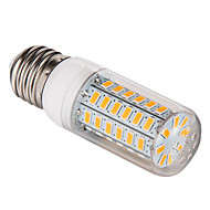 E26/E27 12 W 56 SMD 5730 1200 LM Warm White / Cool White T Corn Bulbs AC 220-240 V