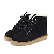Women's Shoes Snow Boots Low Heel Ankle Boots with Lace-Up More Colors available