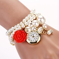 Women's New Pearl Series Hanging Rose Watch ,Pearl  Watch (Assorted colors)C&D-119 Cool Watches Unique Watches Fashion Watch