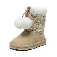 Beige - Baby Sko - Hverdag - Bomuld - Støvler
