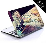 pirátská loď konstrukce full-tělo ochranné plastové pouzdro pro 11-palcový / 13-palcový nový MacBook Air