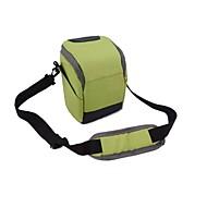 dengpin® um ombro bolsa de câmera com capa de chuva para Sony A6000 a5100 A5000 NEX 5t NEX-5R NEX-5N NEX-6 18-55 ou 16-55