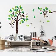 Wall Stickers Wall Decals, Kidsroom Nursery Home Decor Monkey PVC Wall Stickers