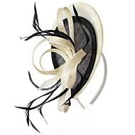 meninas de linho delicado casamento / partido / flores casuais / headbands