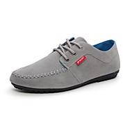 Men's Shoes Casual Faux Leather Oxfords Black/Blue/Gray