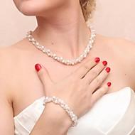 Women's Pearl Jewelry Set Pearl